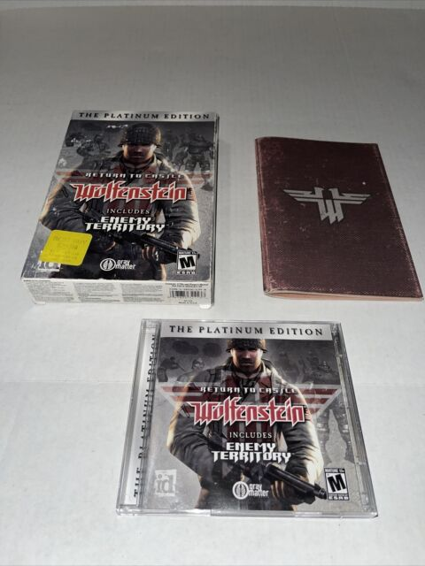 Return to Castle Wolfenstein Platinum Edition Enemy Territory PC Complete Box