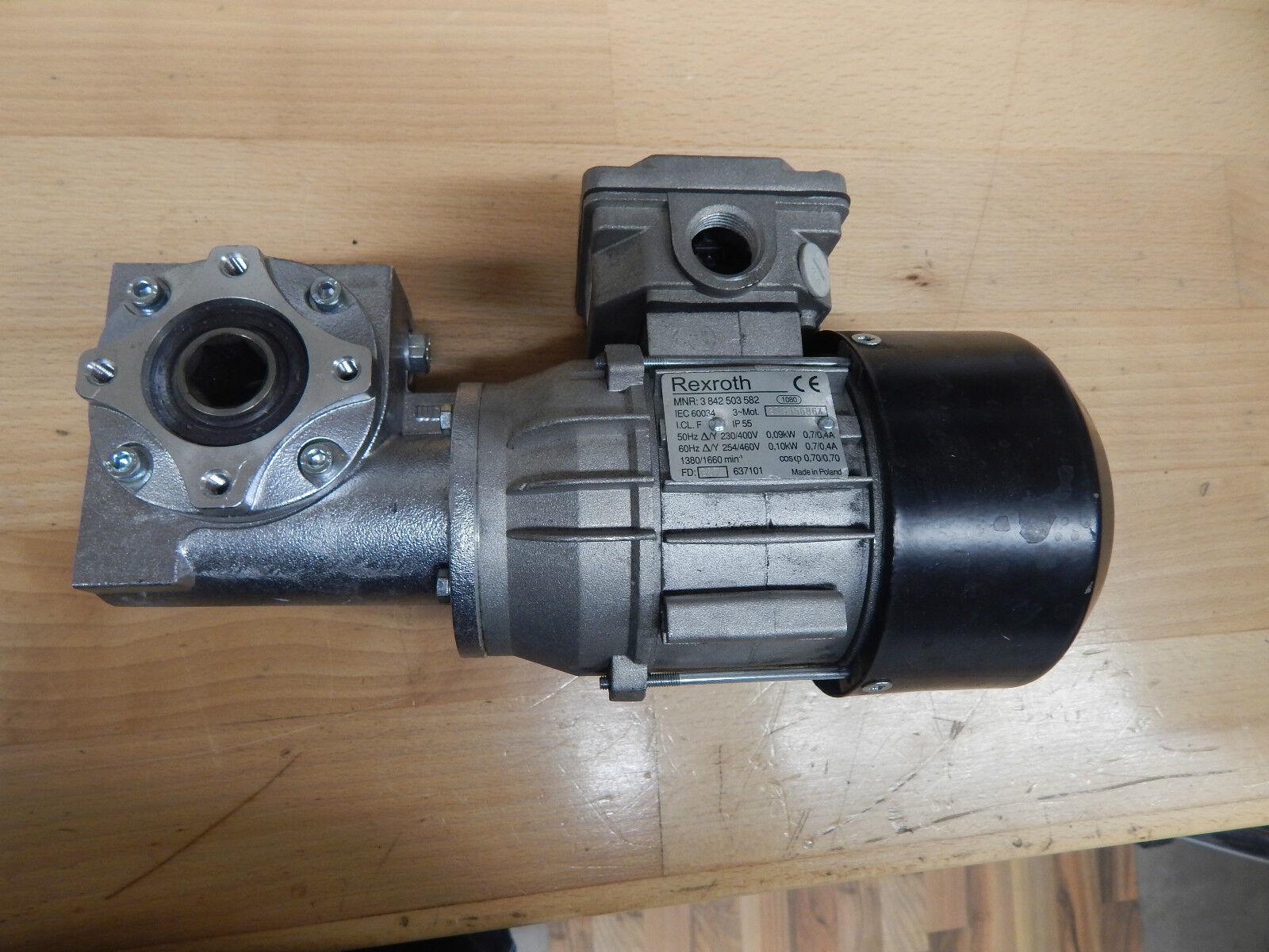 Rexredh MNR 3 842 503 582 Motor & Rexredh Winkelgetriebe GS 13 -1  i=20
