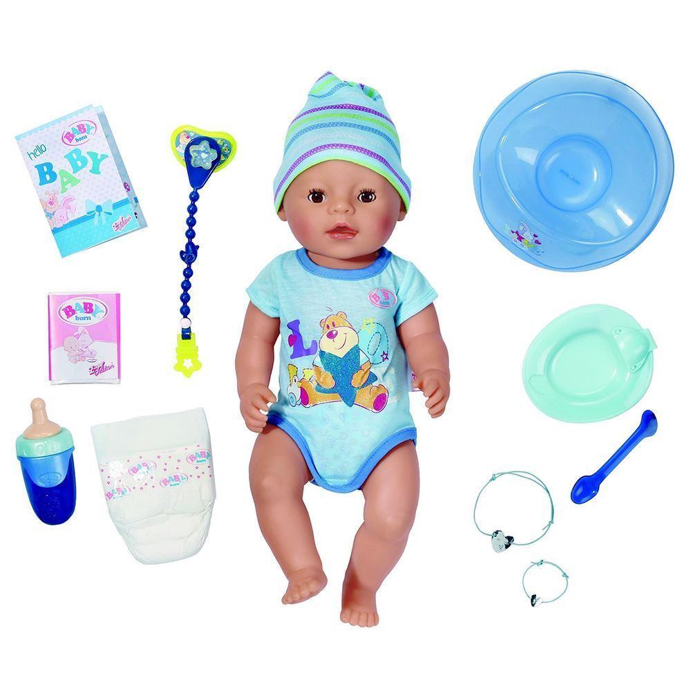 Baby Born Wonderland Poupon Garçon à Fonctions Avec Accessoires