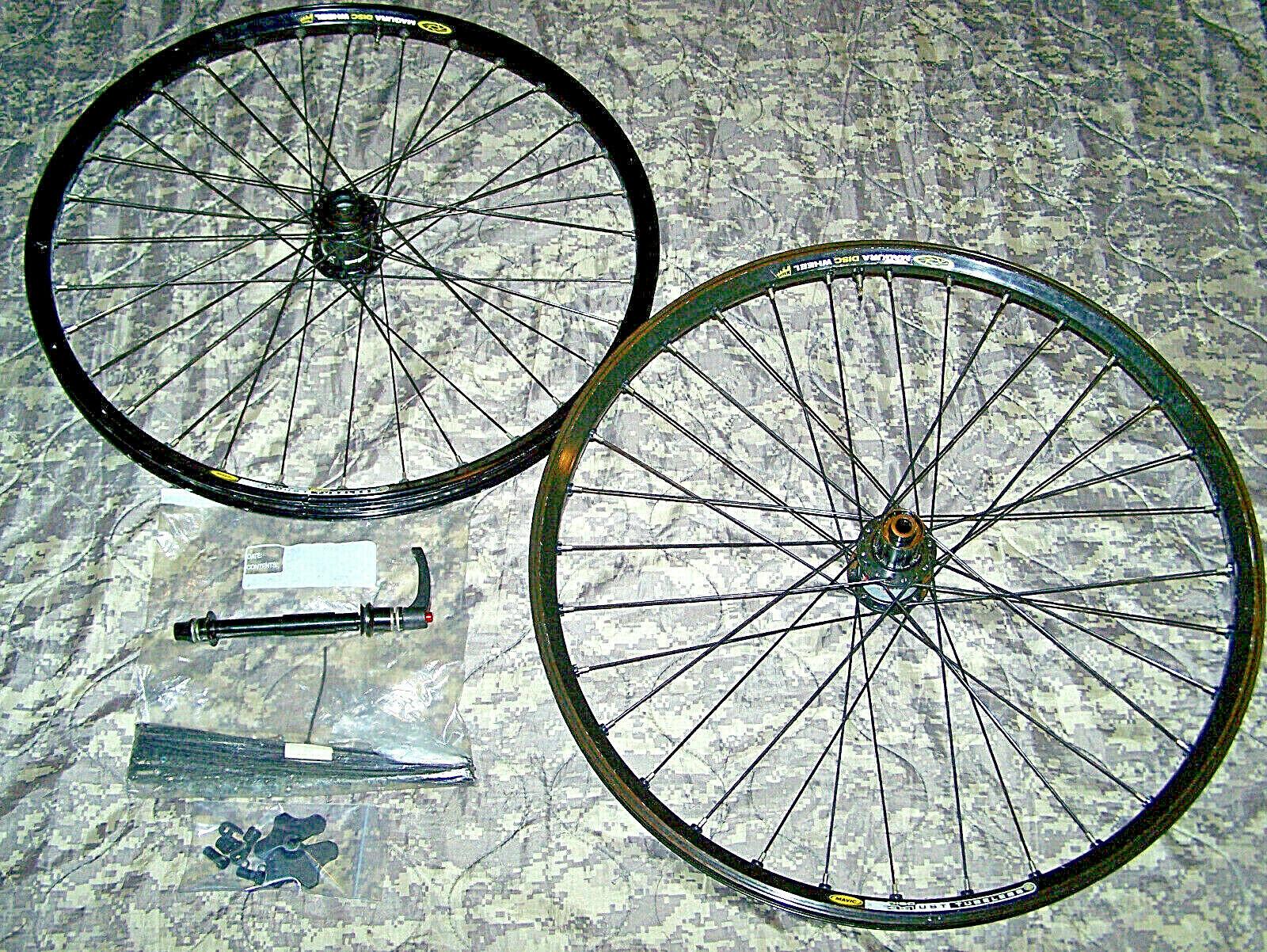 DT SWISS-MAVIC Mtb 26  Alloy Tubeless  Freeride Disc Wheelset branded MAGURA  high quality genuine