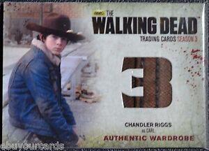 Cryptozoic-Walking-Dead-Season-3-Costume-M17-VARIANT-SEAM-Wardrobe-Trading-Card
