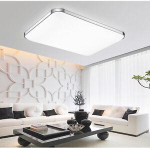 Groß 72W LED Deckenleuchte Deckenlampe Wohnzimmer Leuchte Dimmbar ...