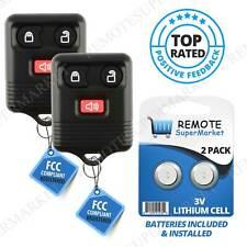2 For Ford F 150 1999 2000 2001 2002 2003 2004 2005 2006 2007 Remote Car Key Fob