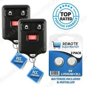 2 For Ford F-150 1999 2000 2001 2002 2003 2004 2005 2006 2007 Remote Car Key Fob