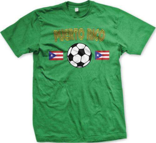 Puerto Rican National Soccer Team El Huracán Azul Fubol Mens T-shirt