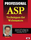 Professional ASP Techniques for Web Masters by Alex Homer (Paperback, 1998)