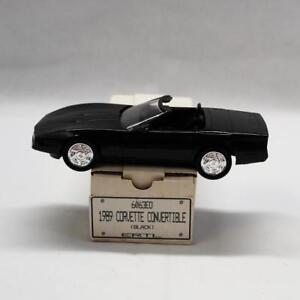 1989-Chevrolet-Corvette-Convertible-Black-6063EO-Dealer-Promo-Car-With-Box-C4