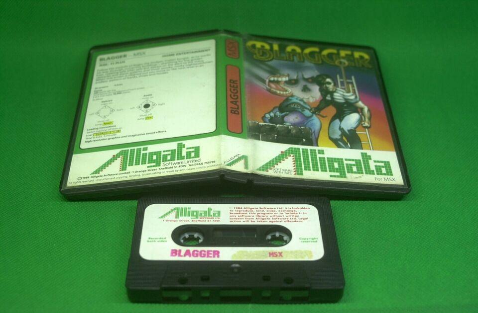 Blagger, MSX