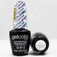 OPI GelColor Euro Central GC E71 POLKA.COM 15mL/0.5oz UV Gel Blue Violet Glitter