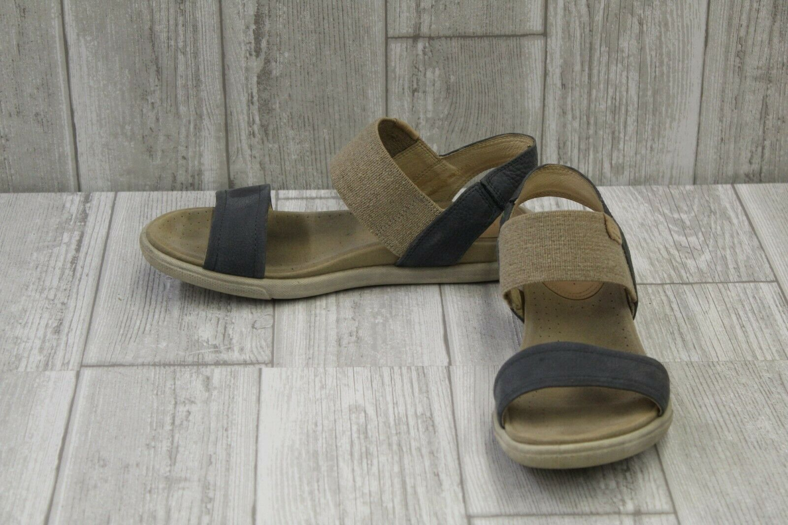 c98344dedf1a ECCO Women s Damara Ankle Gladiator Sandal Ombre powder 37 EU   6 ...