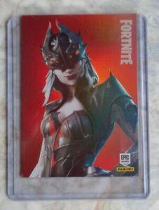 Trading Cards FORTNITE Serie 1 HOLO: ARACHNE # 297, PANINI
