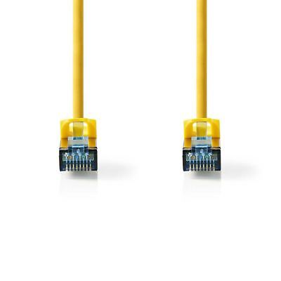 Networking Cables & Adapters Fine Nedis Cat 6a Sf/utp Network Cable Rj45 Male To Rj45 Male 10m Yellow Convenience Goods Computer Cables & Connectors