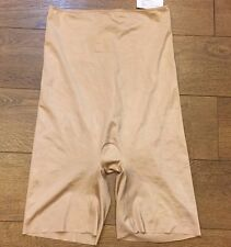Spanx Slimplicity High Waisted Mid Thigh Short Shaper Nude sz M Medium NWOT