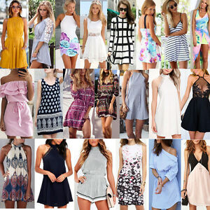 Women-Dress-Summer-Floral-Lace-Evening-Party-Cocktail-Beach-Short-Mini-Dress-MA