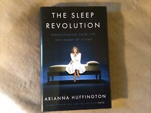 The Sleep Revolution signed by Arianna Huffington,HB,NEW