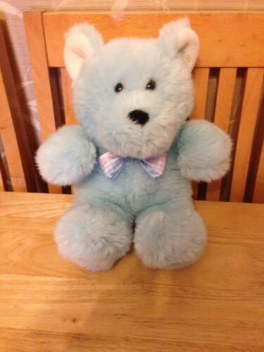 Blue Teddy Bear-Bébé garçon-Cadeau 10