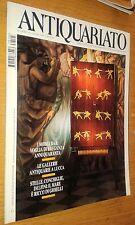 RIVISTA ANTIQUARIATO # 195-MOBILI BAR-ANTIQUARIE LUCCA-MARE RICCO GIOIELLI-1997
