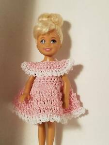 Hand crocheted Chelsea Kelly Mattel doll clothes