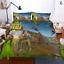 3D-Fortnite-battle-royale-Jeux-de-literie-housses-de-couette-Taie-d-039-oreiller miniature 3