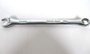 EASCO-63709-FORGED-ALLOY-9mm-Open-Closed-End-Wrench-12pt-MADE-IN-THE-USA