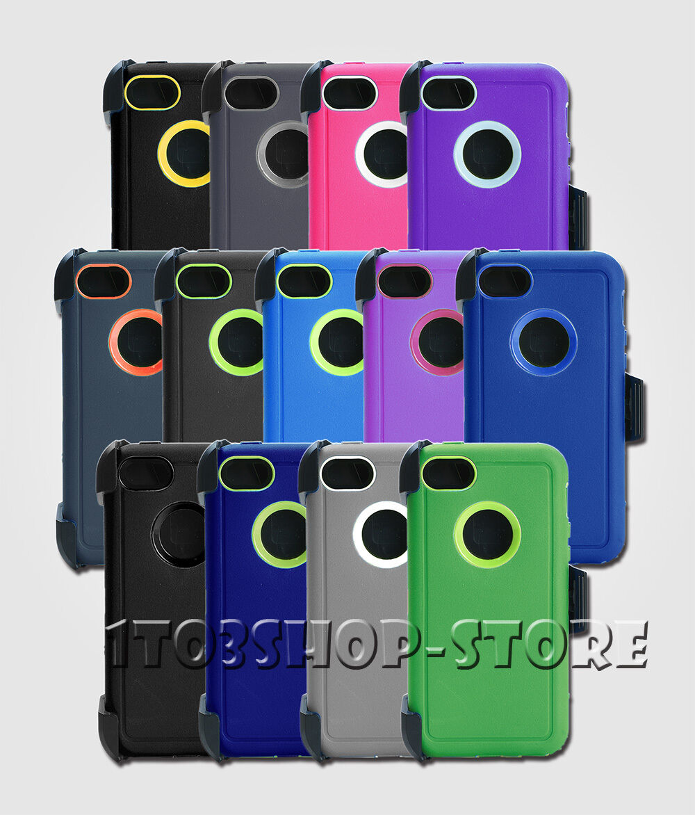For iphone 5c rugged case cover wholster belt clip fits otterbox rugged case cover wbelt clip for iphone 5c holster fits otterbox defender brand new condition in bulk package freerunsca Choice Image
