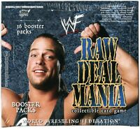 Comic Images Wwe Wwf Raw Deal Mania Wrestling Booster Box