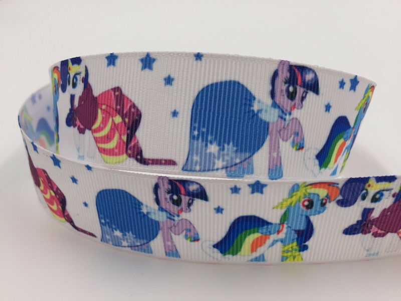 DIY 5 Yard 1/'/' 25mm Bambi Printed Grosgrain Ribbon Hair Bow Sewing Ribbon