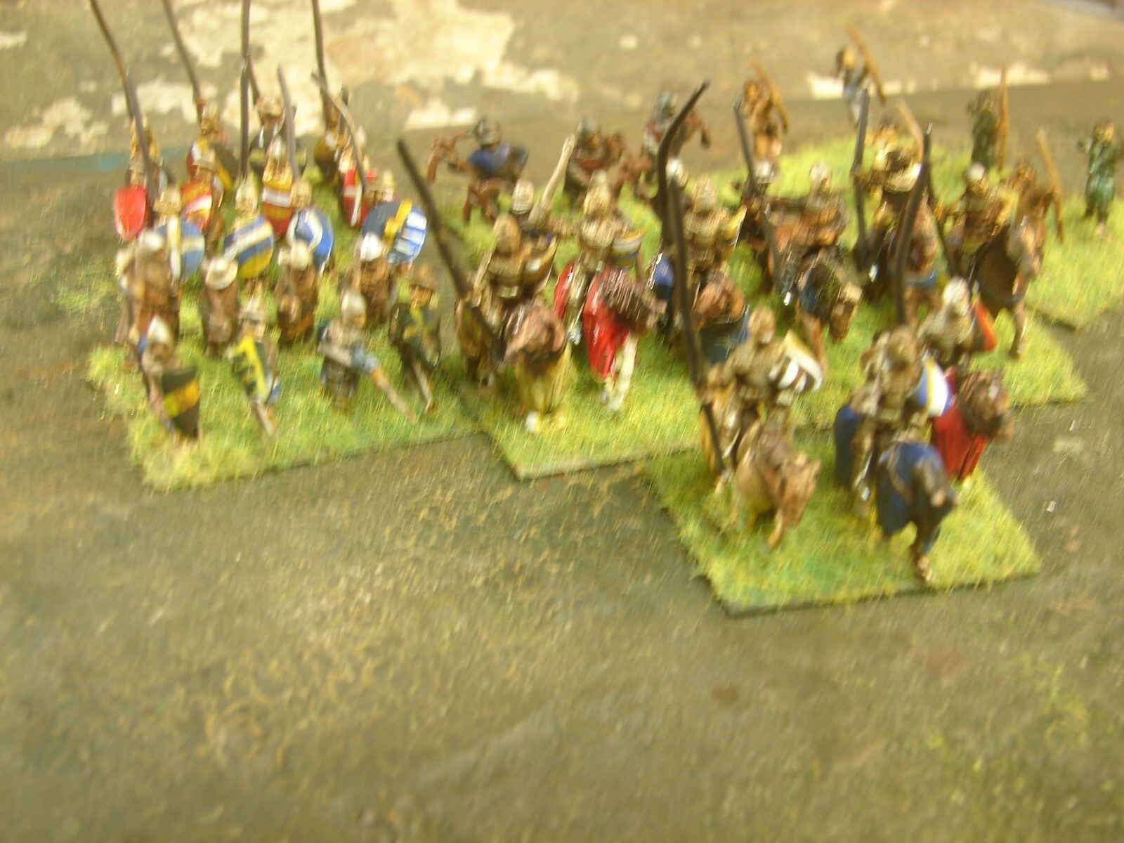 15mm Handpainted DBA Hundred Years War Army (Essex Figs)