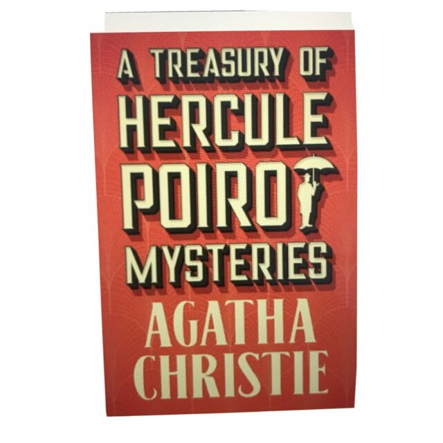 A TREASURY OF POIROT MYSTERIES by Agatha Christie Hardbound W/Jacket NEW