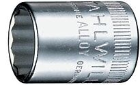"""Stahlwille 1//4/"""" Drive Metric 12 Point 13mm Socket 13"""