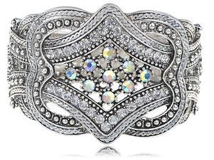 Grecian-Vintage-Gift-Goddes-Silver-Belt-Buckle-Wrap-Fashion-Bracelet-Bangle-Cuff