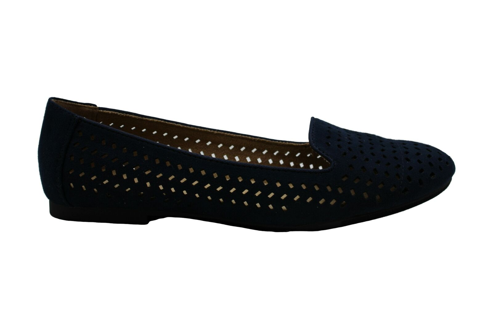 Style & Co. Womens alysonn3 Suede Closed Toe Loafers, Navy Mc, Size 8.5 US / 6.5