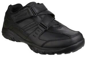 Skechers-Kinder-Grambler-Zeem-Schule-Schuhe
