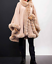 Mantella-Poncho-donna-eco-pelliccia-elegante-giacca-Copriabito-Cappotto-Giubbino miniatura 18