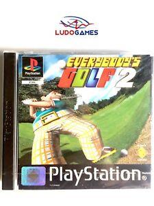 Everybodys-Golf-2-Psx-PS1-PLAYSTATION-Neuf-Scelle-Retro-Scelle-Nouveau-Pal-Eur