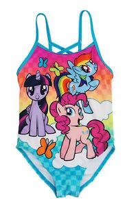c12fcaf0633a4 Hasbro My Little Pony Friends One-Piece Swimsuit Little Girls 4,5/6 ...