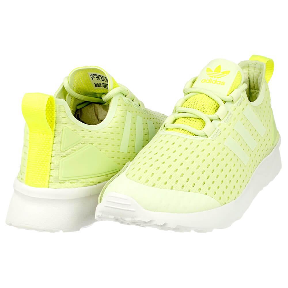 Adidas ZX Flux ADV Verve Zapatillas Sneakers Halo Verde Amarillo Solar nos 9.5
