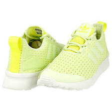 0f7f3b858 Adidas ZX FLUX ADV VERVE Trainers Sneakers Halo Green Solar Yellow UK 8 US  9.5