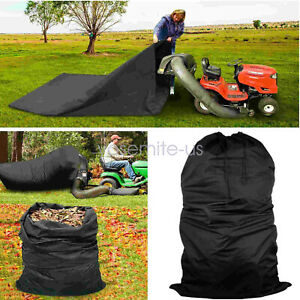 Details About Lawn Tractor Leaf Bag Mower Catcher Riding Grass Sweeper Bagger Outdoor Rub H2c9