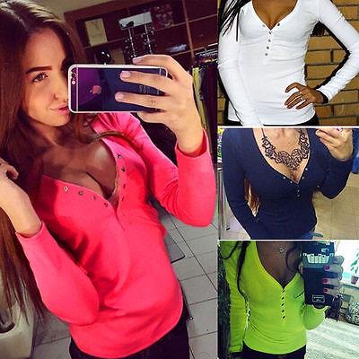 Fashion Women Summer Vest Top Long Sleeve Blouse Casual Tank Tops T-Shirt