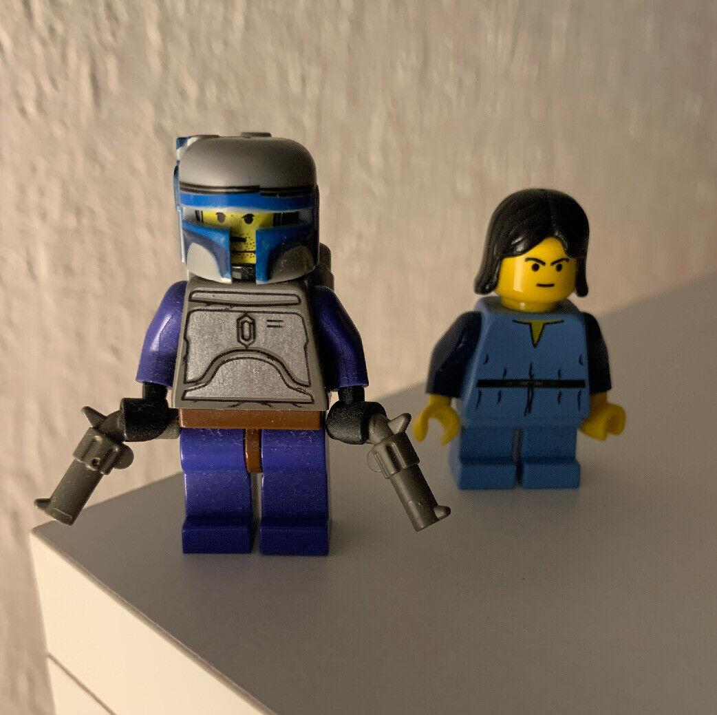 Lego Stern Wars Jango und Boba Fett  7153  RAR