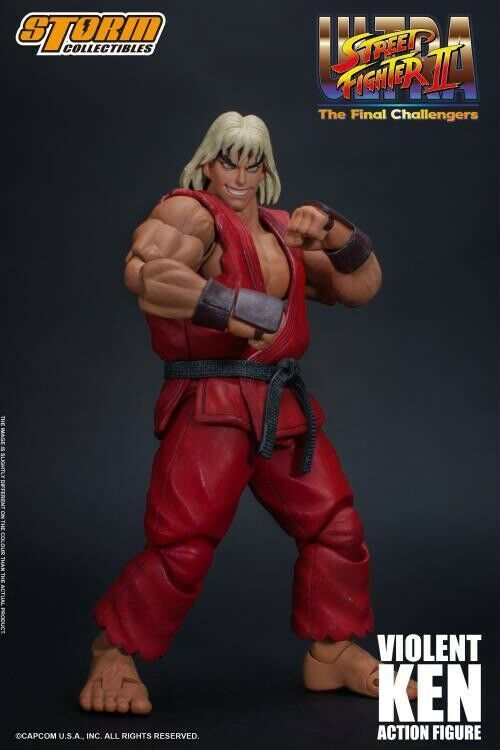 Storm Collectibles Violent Ken from Ultra Street Fighter II