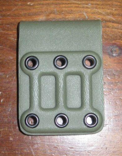 "G-CODE narrow belt loop slide to mount holster OD green kydex 2/"" OSH GHS SOC XST"