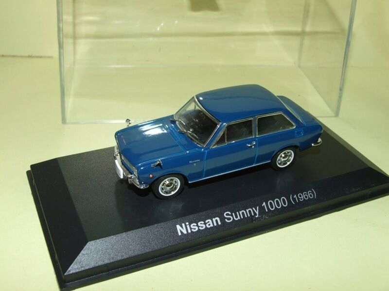 NISSAN SUNNY 1000 1966 Bleu NOREV