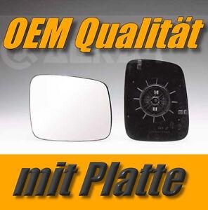 spiegelglas-VW-TRANSPORTER-T4-90-03-links-fahrerseite-aussenspiegel