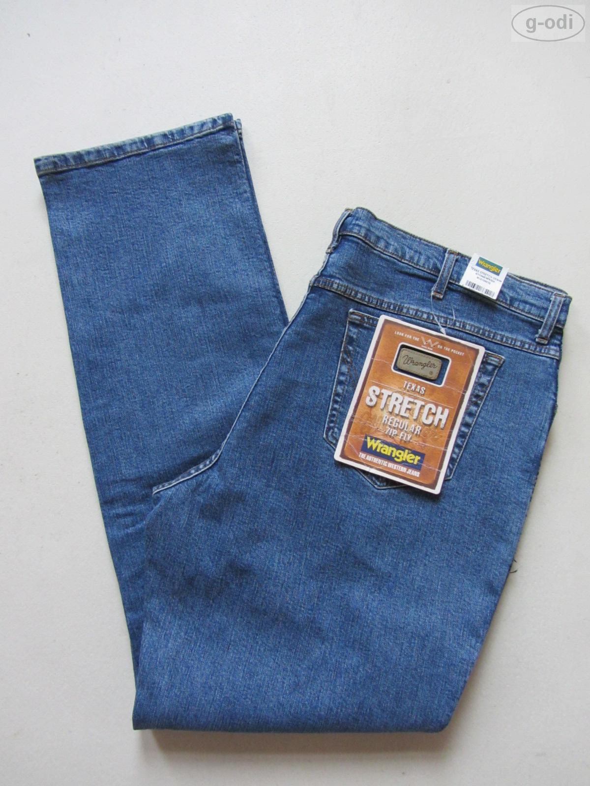 Wrangler TEXAS Stretch Jeans Hose W 44  L 36 NEU   Oldschool Denim extra lang