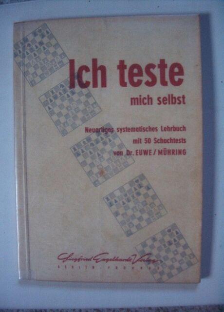 Schach - Ich teste mich selbst von Euwe/ Mühring
