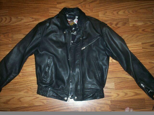 Harley Davidson Womens Leather Jacket Size  Medium