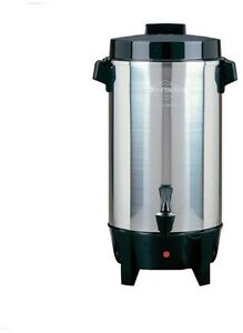 42 cup urn coffee hot water dispenser large party. Black Bedroom Furniture Sets. Home Design Ideas
