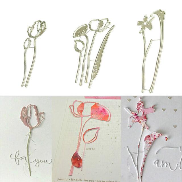 Blumen Metall Stanzformen Schablone für DIY Scrapbooking Paper Card Cover Decor·